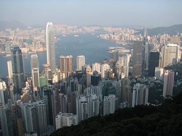 Hong Kong city centre