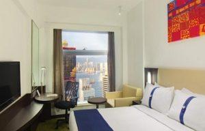 room in Holiday Inn Express Soho Hong Kong