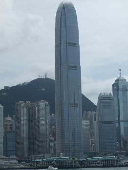 skyscrapers International Finance Centre (IFC)